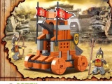 混批正版玩具小鲁班益智拼插式积木三国雷石