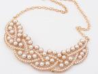 欧美项链批发 欧美气质奢华珍珠项链  时尚假领项链X91460