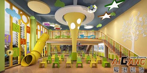 重庆幼儿园装修 幼儿园装饰设计 幼儿园装修装饰案例