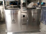 九寨沟景区垃圾桶 户外分类不锈钢垃圾桶 厂家直销