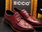 广州皮鞋工厂生产批发品牌真皮外贸休闲男鞋商务正装皮鞋贴牌加工