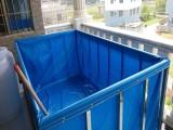 帆布水池 定做折叠游泳池支架鱼池防雨布龟池锦鲤池家庭戏水池