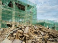 高价回收建筑木方,模版,木板