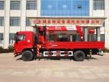 东风T5玉柴180马力配长兴8吨吊机