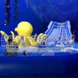 室内商场百万海洋球池围栏儿童滑梯蹦床大型游乐设备