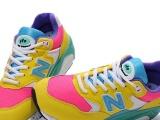 NB580黄玉桃红女鞋36-39 新百伦580 纽巴伦女跑鞋