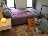 整租 一室一厅 简单装修 家具家电齐全 可办居住证 随时入住