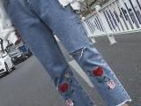 广西贺州低价5元牛仔裤批发 库存尾货牛仔裤哪有工厂积压处理货