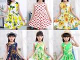 童装女童夏装2018新款洋气裙子中大女童花朵连衣裙