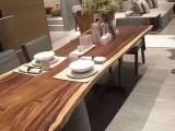 实木异类板桌整体桌圆桌