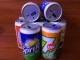 厂家批发可乐移动电源 易拉罐充电宝创意礼品移动电源 一件起批