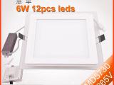 厂家直销LED玻璃面板灯6W 12W 18W方形面板灯 最新款L