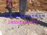 禹州土石方大型岩石分裂机静态分离/无噪音