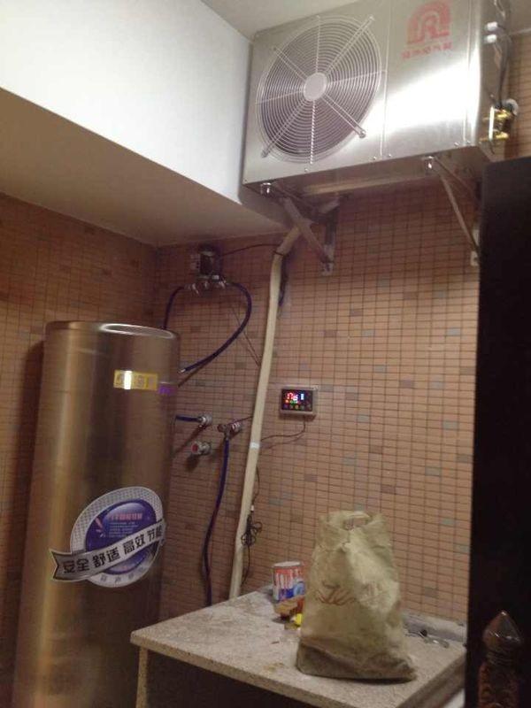 全不锈钢空气能热水器耐用节能更安全省心红阳电器城太阳能