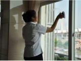 上海金山 擦玻璃 刮玻璃 玻璃清洗 保洁服务 就找蓝胜家政