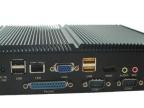 酷睿i5无风扇迷你工控机 全铝防尘工业电脑 intel双千兆网卡现货