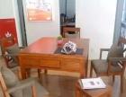 济南实木红木麻将桌,餐桌式麻将机!