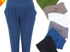 【彩尔莉】夏薄外穿中老年妈妈裤女哈伦裤七分裤时尚休闲打底裤