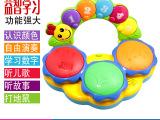 婴幼儿手拍鼓 儿童打地鼠音乐玩具 婴儿早教故事拍拍鼓玩具
