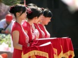 池州开业花篮拱门军乐团 开业舞麒麟舞龙舞狮