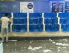 盐城本地鱼缸制作定做鱼缸海鲜城海鲜池安装大闸蟹缸制作