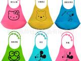 母婴日用百货 贝亲绑带式硅胶围嘴 围兜口水巾 美标FDA认证