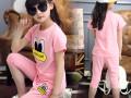 安徽童装批发网最便宜热销儿童套装批发夏季3元小孩子T恤衫批发