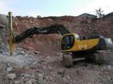 挖机也可以改钻机了,深圳市专业外挂式液压钻机改装厂家直销