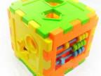 可爱10形状 智力盒 小手小脑一起动 认知积木玩具 益智玩具0.18