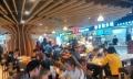 8号线大世界美食城,适合各种美食小吃,证照齐全