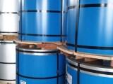 供应上海宝钢彩涂卷PE镀铝锌基板大量现货量大从优