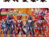 动漫家族 四人组合超人  奥特曼 模型玩具厂家批发