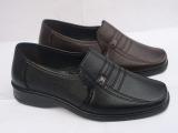 套脚爸爸鞋中老年休闲皮鞋 春夏季软底透气老人男鞋中年男士单鞋