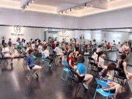 广州天河华翎舞蹈白云区舞蹈培训教学空中瑜伽培训学校