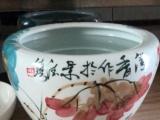 瓷缸,招财缸,景德镇粉彩