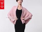 女人百合羊绒开衫两面穿秋冬开衫宽松大码羊毛衫热销款 女装