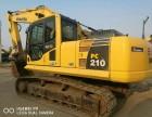 二手挖掘机小松210-8出售 原装进口