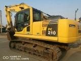 二手挖掘机小松210-8二手挖掘机市场低价转让