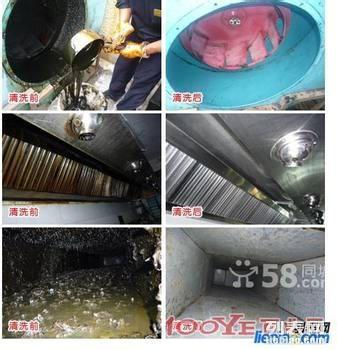 福州清洗维修安装餐馆抽油烟机,价格全市最低,清洗干净彻底