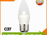 新款B22LED蜡烛灯C37 E27 5