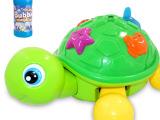 儿童玩具电动泡泡龟音乐灯光大号全自动吹泡泡玩具枪水泡泡海龟