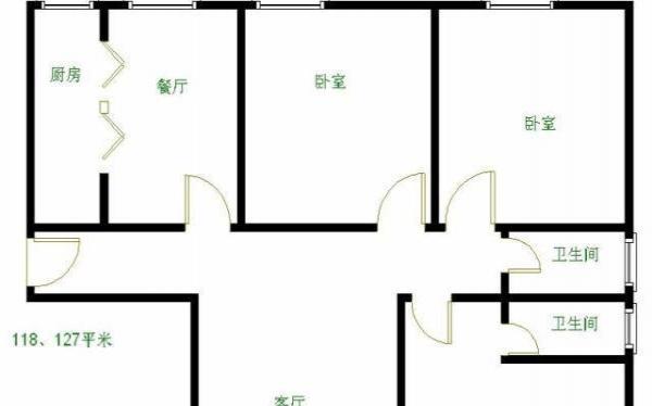 出售:北京周边-三河紫竹湾二期 3室2厅2卫128㎡265万