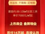 光谷东 金地品牌 7字头首付14万起 89平三房 网红流量盘
