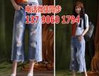 广州厂家清仓处理牛仔裤尾货摆摊去哪里有韩版牛仔裤1至9元批发