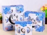厂家批发创意青花瓷套装碗 12头陶瓷碗 陶瓷餐具 定制印LOGO