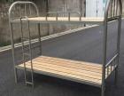 合肥出售全新公寓床高低床双人学生铁床工地床