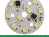 厂家直销 高压LED5730贴片灯板220v5w灯珠筒灯球泡灯配