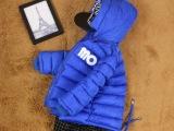 韩国版精品童装批发 男童棉衣加厚 儿童羽绒棉棉衣 冬季棉袄外套