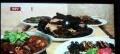 九渡河六合山庄驴肉大全,麻辣鲟鱼,野生的板栗