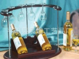 仿红木红酒架 创意木质红酒架 新款红酒架 时尚商务礼品 厂家批发